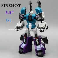 """New Transformers Sixshot G1 MFT MF 27D Deluxe Class Action Figure 5.5"""" Kids Toys"""