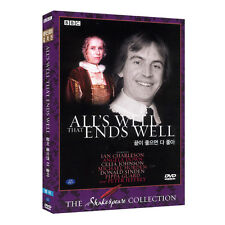 All's Well That Ends Well (1981) BBC Shakespeare DVD - Elijah Moshinsky (*New)