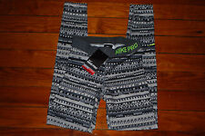 NEW Nike Pro Combat DriFit Sweater Pattern Compression Pants Tights (X-Small)