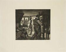 Künstlerische Grafiken & Drucke mit Lithographie-Technik von 1900-1949