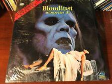 Laserdisc SUBSPECIES III - BLOODLUST 1983 Full Moon Entertainment Rare Horror LD