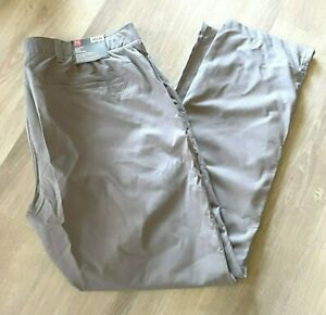 Under Armour NWT Men's Size 42x34 Golf Pants Gray Grey Straight 1309545 NWT $80