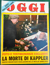 OGGI 8/1978 KAPPLER AMIN JACQUELINE PAMPANINI FERRI JANNACCI BOLDI POMARICI