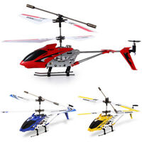 Syma S107G 3CH Remote Control LED Helicopter Alloy Copter with Gyroscope 150mAh