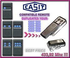 CASIT TXS2, TXS4, TXS6 433,92MHz COMPATIBILE RADIOCOMANDO TELECOMANDO