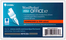 Corel WordPerfect Office X7 Home & Student, 3 Users - PKC