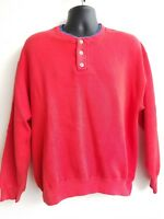 VTG LL Bean Russell Athletic Sweater Long Sleeve Shirt Made USA Sz L
