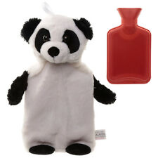 Cute Plush Pandarama 1L Hot Water Bottle and Cover Wellbeing Comfort Children's
