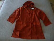 "NWT OSKA ""Nieves"" Textured/Washed Hooded Jacket - size 2 14/16UK RRP£349.00"