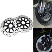For Ducati Front Brake Disc Rotor 748 888 916 996 998 Monster GT1000 ST2 ST3 ST4