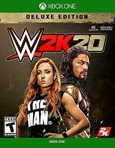 NEW WWE 2K20 Deluxe Edition - Microsoft Xbox One