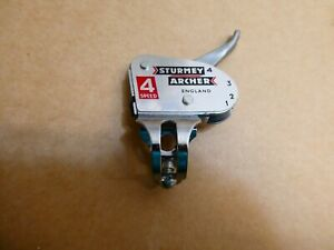 Vintage NOS Sturmey Archer 4 speed gear lever changer. Moulton. Raleigh