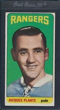 1964/65 Topps #068 Jacques Plante Rangers VG/EX *28