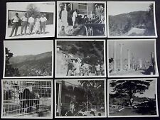 CYPRUS 9 ORIGINAL PHOTOS FROM 7 PLACES 1950-1960'th VISITING OF ISRAELI GROUP