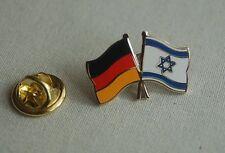 Freundschaftspin Deutschland Israel Pin Button Badge Anstecker Anstecknadel AS