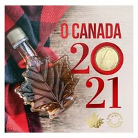 O Canada 5-Coin Gift Card Set (2021) $2, 25¢, 10¢, 5¢ & Special $1 - [In Stock!]