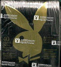 Playboy Chromium Cover Cards Edition 1 Factory Sealed Box ( Donald Trump )