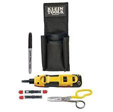 Klein Tools Vdv027-813 Lan Installer Starter Kit - Punchdown