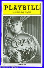 Playbill + Curtains + Jill Paice , Karen Ziemba , David Hyde Pierce , Debra Monk