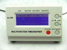 Watch Timing Machine Multifunction Timegrapher No. 1000 +1 YEAR WARRANTY+gift