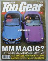 Top Gear 03/1998 No 54 featuring BMW M Roadster, TVR Chimaera, Ginetta G4