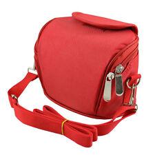 Camera Case Bag for Nikon CoolPix L330 L340 B500 Bridge Camera (Red)