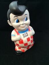 VINTAGE BIG BOY Piggy Bank with Stopper Classic Collectible 9""