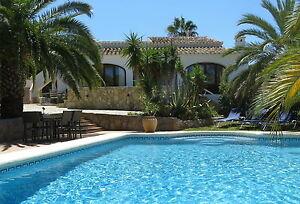 Villa Ferienhaus Spanien Costa Blanca Javea 6 Personen  Pool Strand 3 Schlafzim.