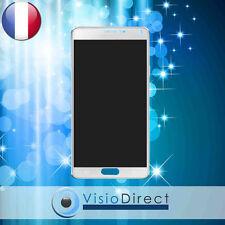 Vitre tactile + ecran LCD pour Samsung Galaxy Note 4 N9100 SM-N910F blanc