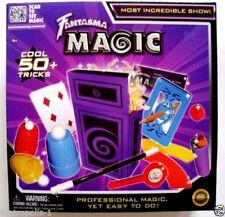 FANTASMA MAGIC SET,PRO MAGIC,YET EASY TO DO,50+ TRICKS,LEARN ONLINE,KIDS 6+,NEW