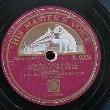 78rpm DUKE ELLINGTON sherman shuffle / hayfoot strawfoot