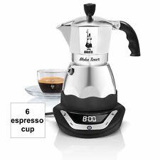 Bialetti easy timer moka cafetière 6 tasses expresso programmable nice camping