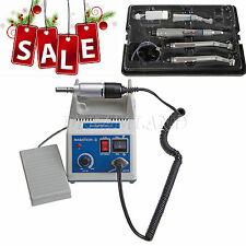 Dental Lab Marathon Electric Micromotor+High Low Speed Handpiece Kit Turbine 4-H
