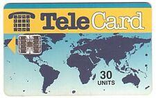 Pakistan - Chipcard - Telecard Worldmap 30 Units SN C52148913 5000 Ex. - Usagée