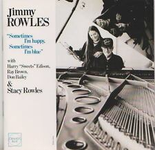 JIMMY ROWLES CD SOMETIMES I'M HAPPY SOMETIMES I'M BLUE  WITH STACY ROWLES