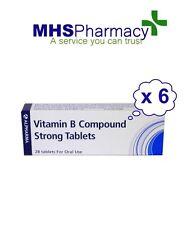 Vitamin B Compound Strong BP [28 x 6 packs] - Vitamin B1, B2, B3 & B6