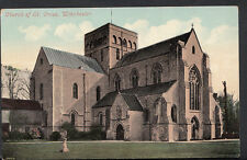 Hampshire Postcard - Church of St Cross, Winchester    RS2564