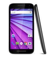 """Motorola Moto G (3rd Gen.) 5"""" LTE Smartphone works with Virgin Mobile – NEW"""