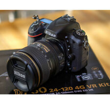 Nikon D D750 24.3MP Digitalkamera - Schwarz (Kit mit AF-S VR 24-120mm Objektiv)