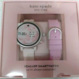 kate spade new york Smartwatch - White Scallop (brand new) 42 mm.