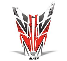 Sled Hood Graphics Kit Decal Sticker Wrap For Polaris Rush RMK 11-16 SLASH RED