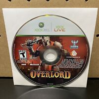 Overlord (Microsoft Xbox 360, 2007) Disc Only - Tested