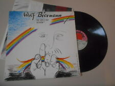 LP Polit Wolf Biermann - the world is Beautiful (11 Song) EMI Musician + Insert WOC