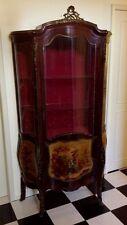 Antique French Louis XVI Style Showcase, Vitrine, Display cabinet, Bookcase