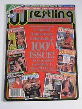 Pro Wrestling Illustrated Magazine December 1987 100th Issue