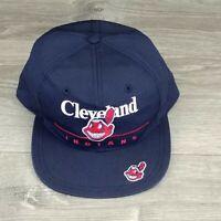 Vintage Cleveland Indians Twins Enterprise Snapback Hat Chief Wahoo Tribe