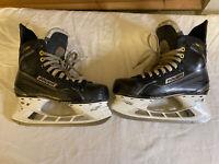 Bauer Supreme 160 Ice Hockey Skates Used Size 9.5