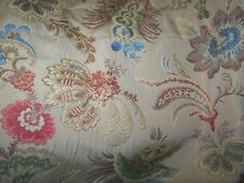 TAPESTRY TAILORED VALANCE LINED BOTANICAL DESIGN