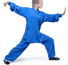 top quality Linen kung fu uniforms tai chi clothing wudang martial arts suits