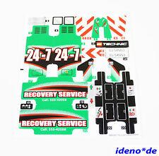LEGO Aufkleber Sticker Technic Technik 42008 Abschlepptruck LKW  Neu